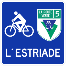 Itinéraire cyclable hors route