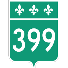 Écusson route 399