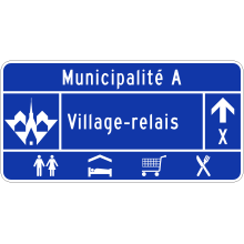 Village-relais (voies cyclables)